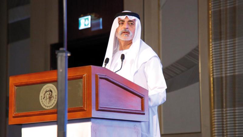 نهيان بن مبارك: «الشيخ زايد أثبت أن القيادة الحكيمة والمستنيرة قادرة تماماً على تشكيل المجتمع».