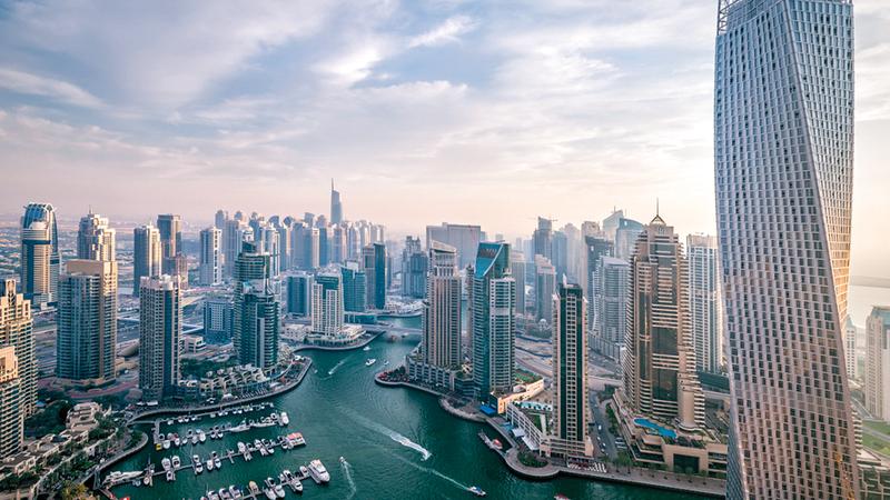 الإمارات تتمتع ببيئة استثمارية آمنة تكفلها القوانين والتشريعات. أرشيفية