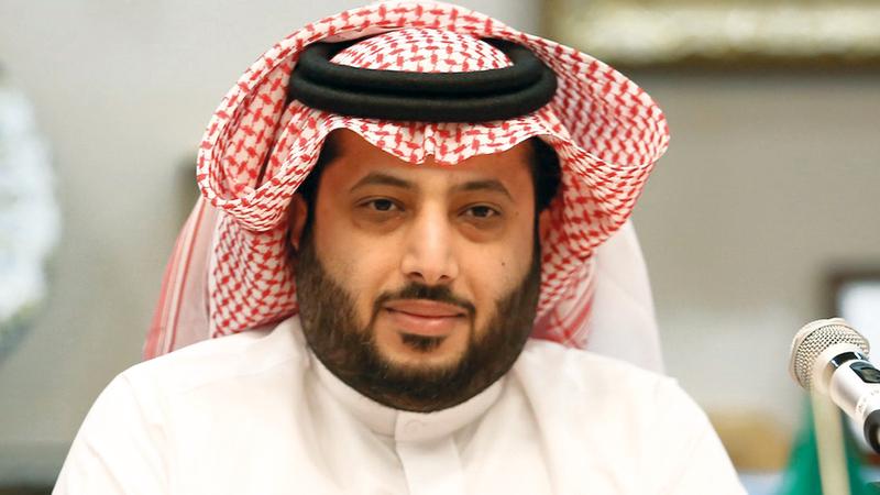 تركي آل الشيخ فاز بجائزة الشخصية العربية. أرشيفية
