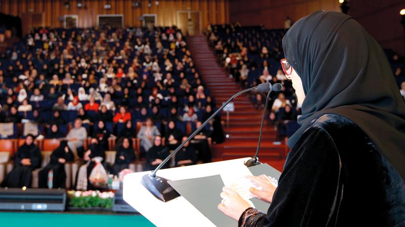 جواهر القاسمي: في الإمارات أنعم الله علينا بقيادة توجه باستمرار نحو تعزيز كفاءة خدمات الرعاية الصحية.  الإمارات اليوم