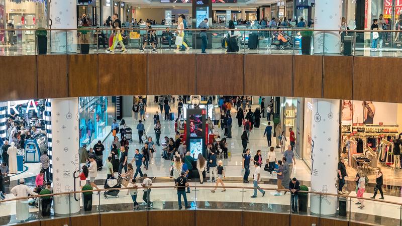 تجارة التجزئة تعتبر من أهم القطاعات الاقتصادية في دبي. من المصدر