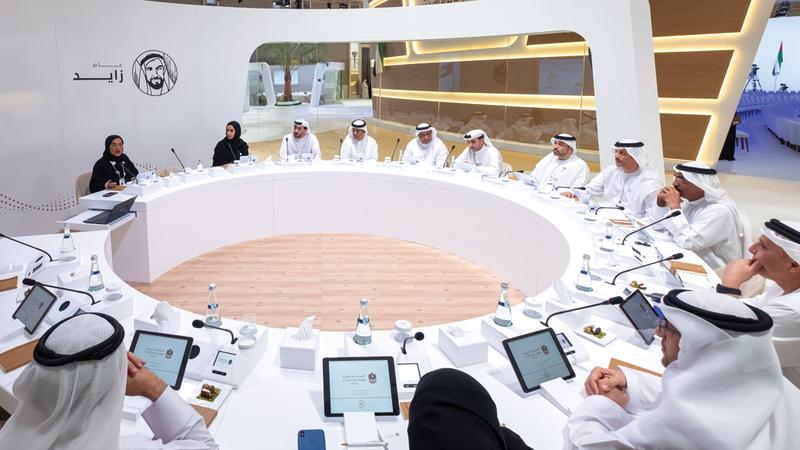 الاجتماع أطلق الاستراتيجية الوطنية لتنظيم العمل في القطاع البحري. من المصدر