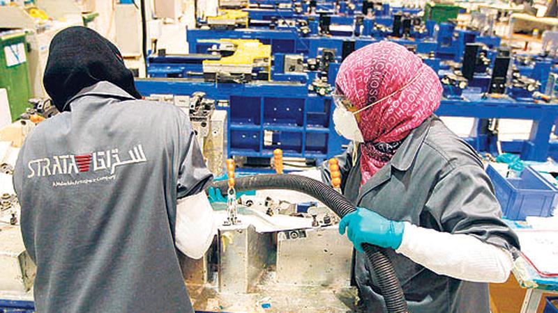 المنتجات التي تحمل علامة «صنع بفخر في الإمارات» من شركة «ستراتا» تورّد لخطوط التجميع لـ«إيرباص» و«بوينغ».   من المصدر