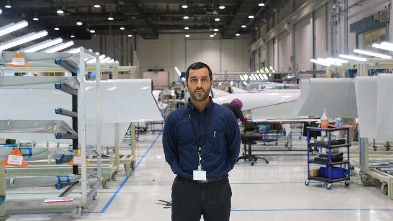 سيف الدهباشي:  «تعزيز موقع (ستراتا) على صعيد الابتكار لتترك بصمة  بارزة كشركة إماراتية في قطاع الطيران العالمي».