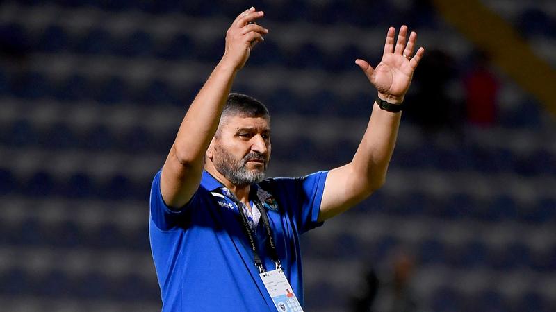 السوري محمد قويض : مدرّب فريق دبا