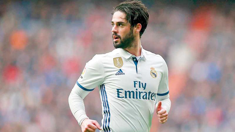 عقد إيسكو الحالي مع ريال مدريد مستمر حتى 2022.  أرشيفية