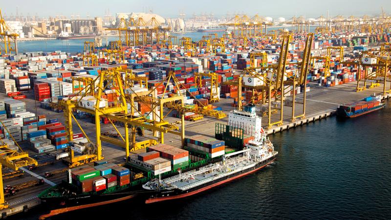 الصين والولايات المتحدة والهند أكبر الشركاء التجاريين لدولة الإمارات خلال عام 2017. أرشيفية