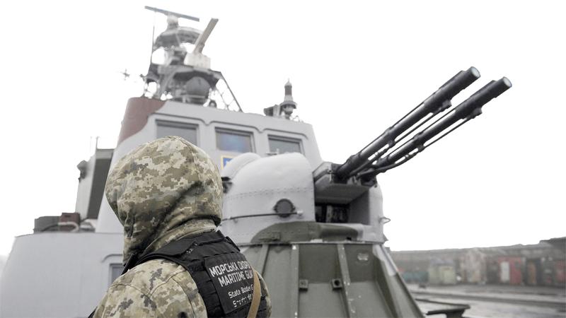«الكرملين» لن يتردد باستخدام القوة ضد أوكرانيا. أرشيفية