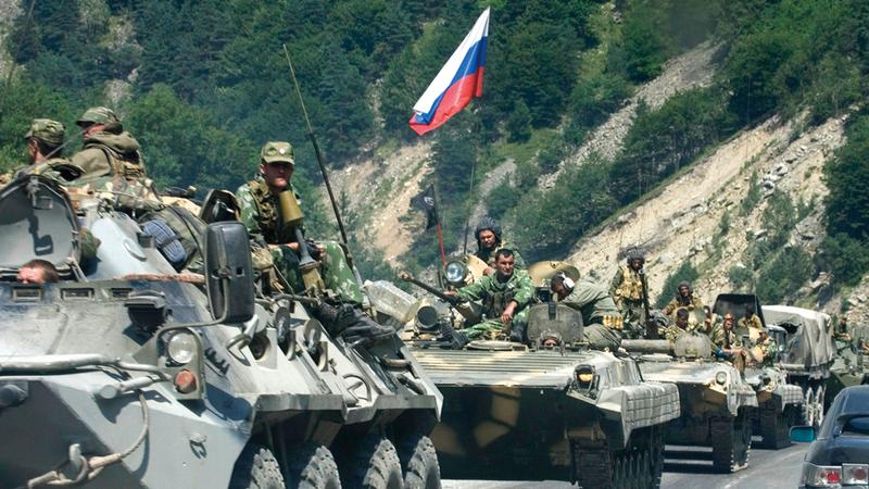 القوات الروسية لن تقبل بتوجيه ضربة إلى حلفائها في سورية.  أرشيفية