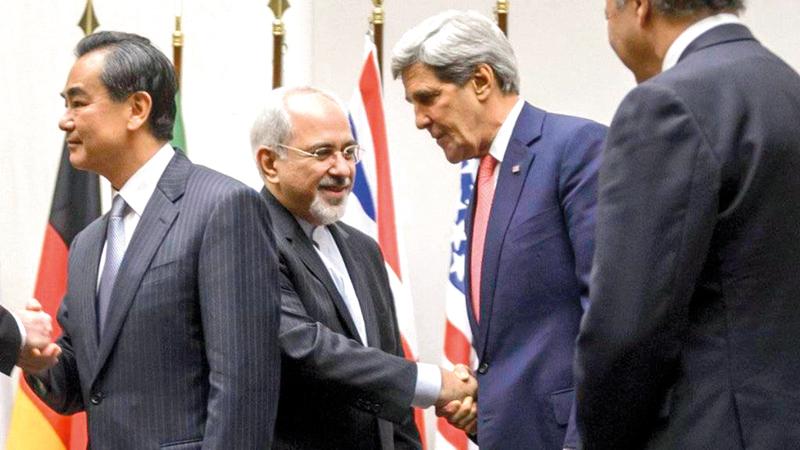 انسحاب أميركا من الاتفاق النووي يُشعر إيران بعدم الثقة بالطرف الأميركي.  أرشيفية