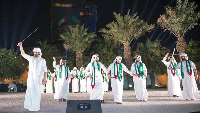 برنامج الاحتفال يتضمن مجموعة من البرامج الثقافية والتراثية المتنوعة. وام