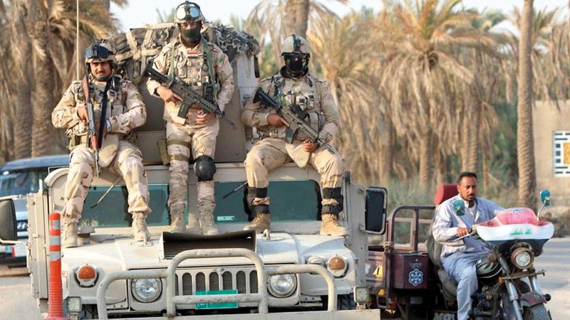 عودة «داعش» إلى العراق مجدداً تظهر مدى هشاشة الأوضاع إلى الآن.  أرشيفية