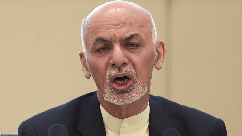 الرئيس الأفغاني أشرف غني طالب بتنفيذ وقف إطلاق نار ثانٍ في أفغانستان. أ.ف.ب