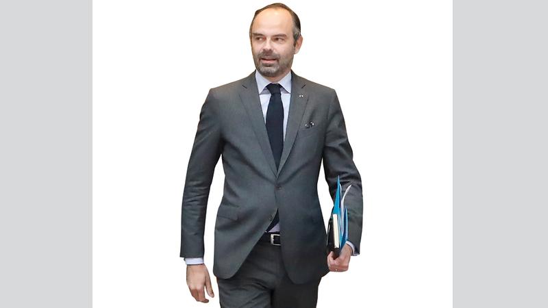 رئيس الوزراء الفرنسي أقرّ بالغلاء في فرنسا ودعا إلى الهدوء. أ.ف.ب