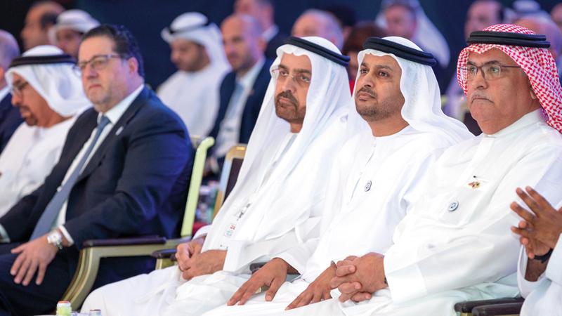 ملتقى الاستثمار الإماراتي - اللبناني عقد في أبوظبي أمس.  من المصدر