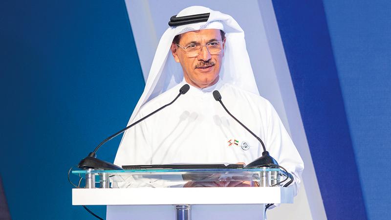 المنصوري أكد خلال الملتقى أن التبادل التجاري غير النفطي بين الإمارات ولبنان سجل في 2017 نحو ملياري دولار. من المصدر