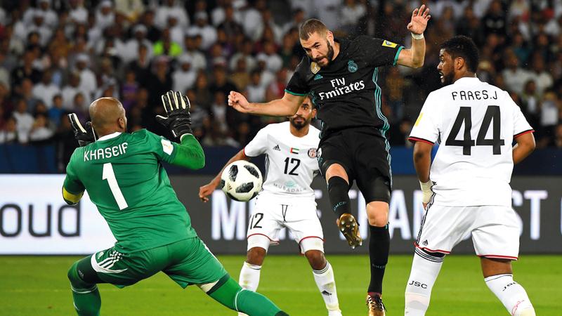 الجزيرة أحرج ريال مدريد الموسم الماضي في نصف النهائي وأنهى المونديال رابعاً. تصوير: إريك أرازاس