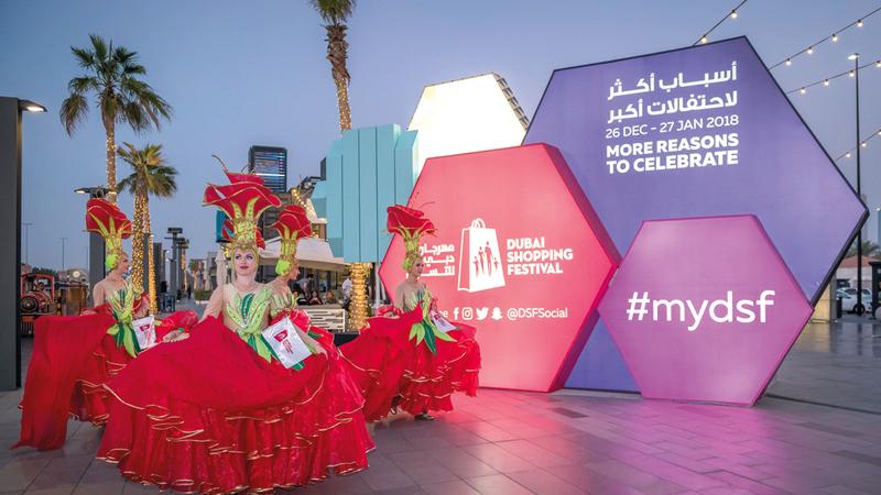 فرق عالمية ستقدم أنشطة ترفيهية لزوار مهرجان دبي للتسوق. من المصدر