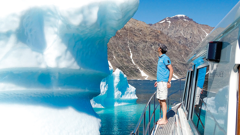 درجات حرارة هواء السطح في القطب الشمالي تتزايد بمعدل ضعف مثيلاتها في العالم.أرشيفية