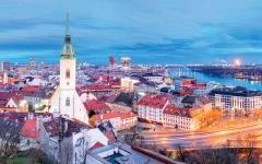 الصورة: براتسلافا مدينة من سحر العالم القديم