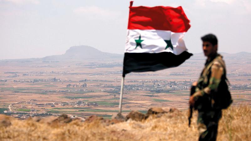 على الرغم من تراجع الأعمال القتالية في سورية لم يتحقق سوى تقدّم ضئيل في الأسباب الأساسية للصراع.  أرشيفية