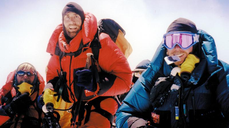 إريك أكد أن التدريب أخذ منه وقتاً طويلاً حتى قرر تسلق قمة جبل إيفريست. من المصدر