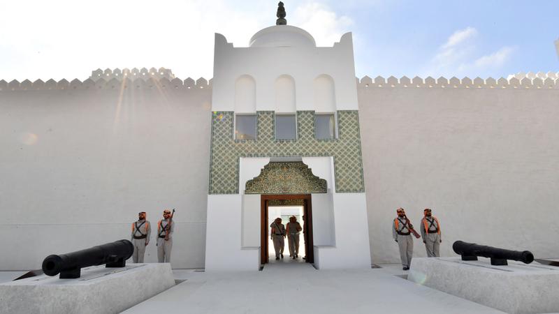 المجلس كان يستضيف اجتماعات منتظمة ترأسها الشيخ زايد بنفسه. تصوير: نجيب محمد