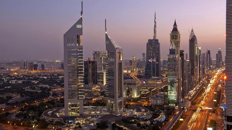 دبي تواصل إضافة المزيد من الفعاليات ووجهات الجذب السياحي التي تستقطب أعداداً أكبر من السياح كل عام. أرشيفية