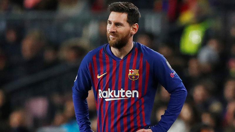 ميسي سجل أول «هاتريك» له في الدوري الإسباني هذا الموسم. رويترز