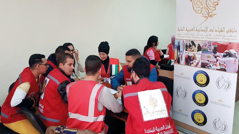 الشباب أثبتوا قدرتهم على التفاعل مع المبادرات وبذل العطاء لكل محتاج. من المصدر