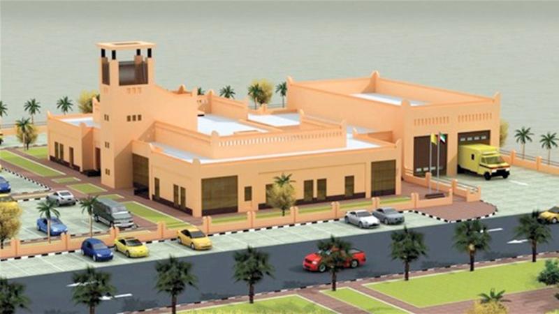 المركز يتميز بالطابع المعماري الحديث مع مراعاة معايير الاستدامة. من المصدر