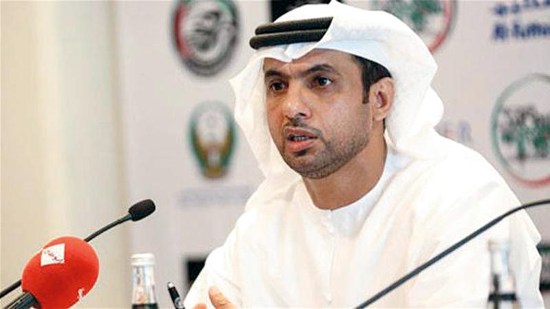 لاعب العين السابق فهد علي
