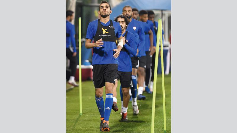 المنتخب يخوض تجمعه الأخير قبل المشاركة في كأس آسيا. من المصدر