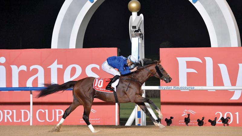 كأس دبي العالمي للخيول حافظ على تصنيفه المميز.  تصوير: أسامة أبوغانم