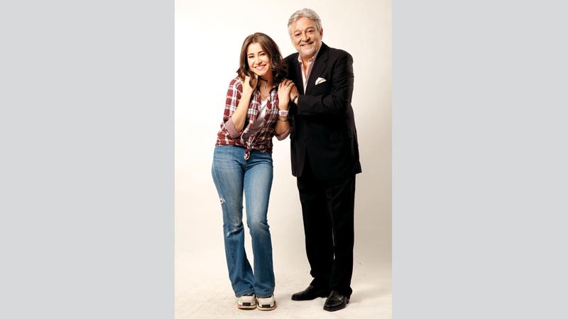 سارة الشامي وعماد رشاد. من المصدر