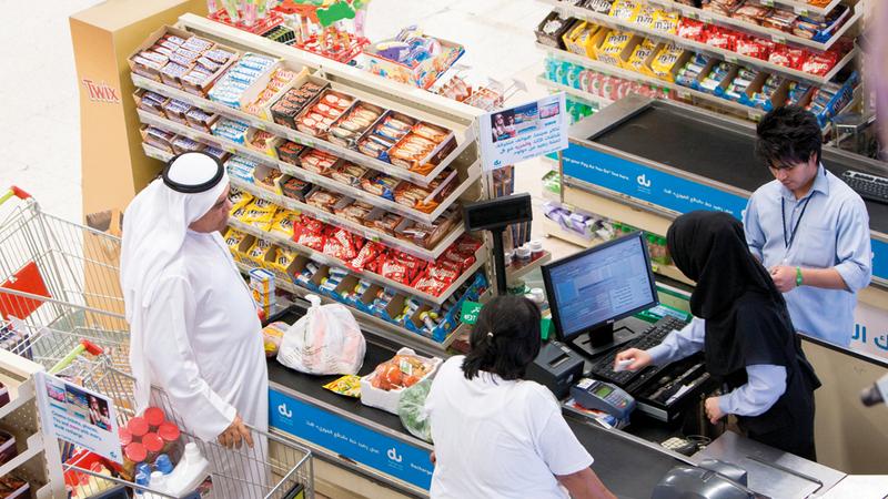 خبيران أكدا أن أسعار السلع ترتفع بصورة أكثر مرونة من انخفاضها. تصوير: أحمد عرديتي