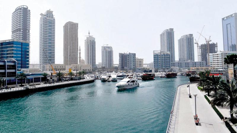 عقاريون أكدوا أن التوقيت مثالي لشراء العقارات في دبي حالياً.  أرشيفية