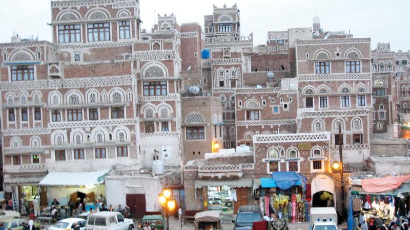 ميليشيات الحوثي تقوم بإعادة هندسة مدن صنعاء من خلال شراء الأراضي والاستيلاء عليها. أرشيفية