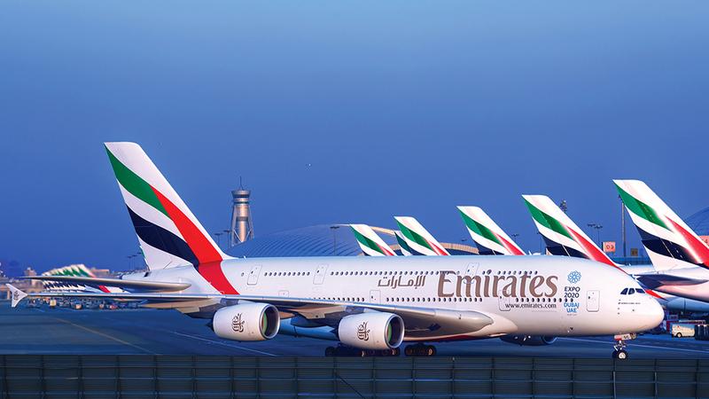 «الناقلة» أعلنت عن صفقة بـ16 مليار دولار لشراء 36 طائرة إضافية من طراز A380. من المصدر