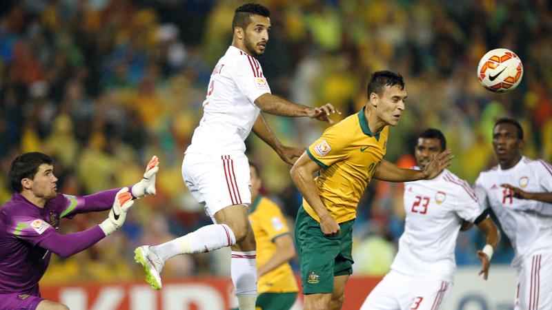 المنتخب حصل على المركز الثالث في النسخة الماضية من كأس آسيا.أ.ب
