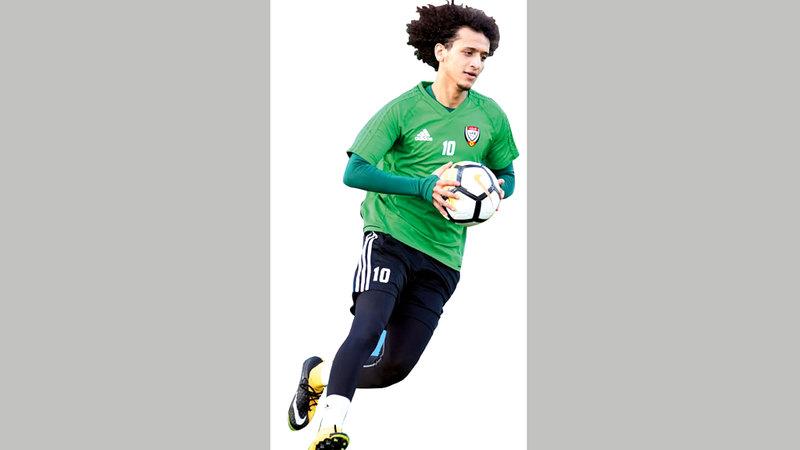 «عموري» أبرز النجوم الغائبة عن المشاركة في نهائيات كأس آسيا. أرشيفية