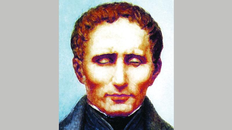مخترع لغة برايل  لويس برايل
