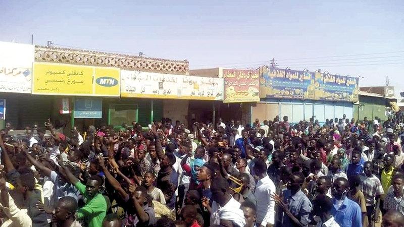 ارتفاع سعر رغيف الخبز في السودان كان سبباً في خروج السودانيين بتظاهراتهم في الشوارع.  أرشيفية