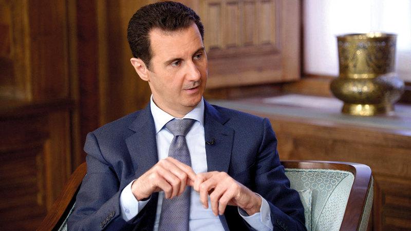 الأسد يريد سورية حرة من الجنود الأتراك. ي ب ا