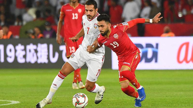 المنتخب لم يقدم المستوى المنتظر في مباراة البحرين. تصوير: إريك أرازاس