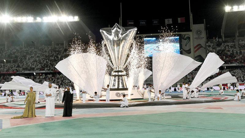 الإمارات تستضيف كأس آسيا للمرة الثانية. تصوير: إريك أرازاس