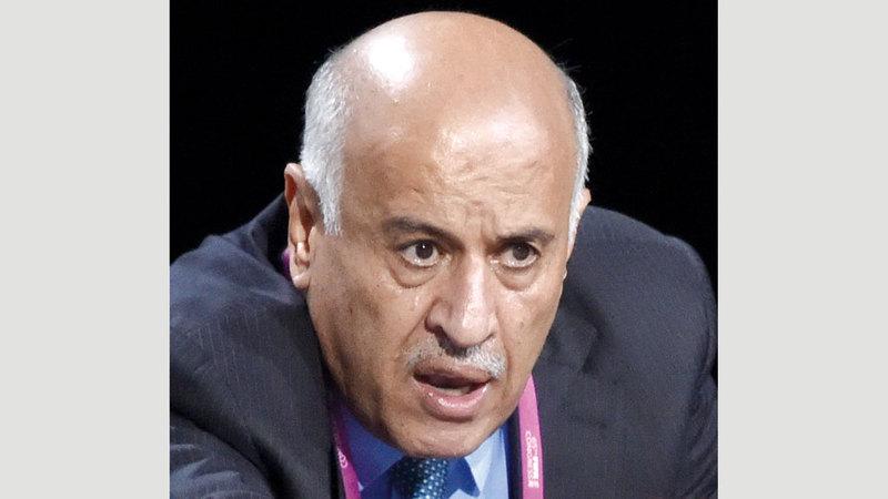 جبريل الرجوب:«رصدنا في الفترة  الماضية لاعبين من  أصول فلسطينية  يلعبون في تشيلي  والسويد والأرجنتين  وأميركا، وتم  استدعاء البعض  منهم للمنتخب».