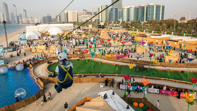 «المهرجان» يقدم عروضاً تناسب كل أفراد العائلة. من المصدر