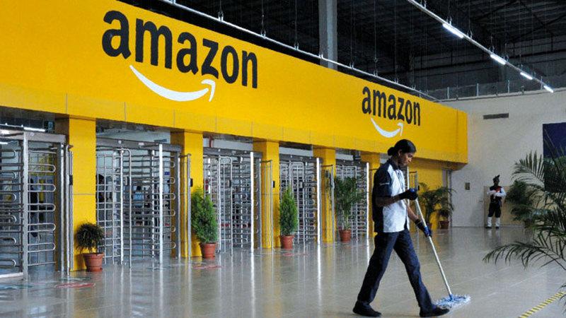 الشركات الصغيرة والمتوسطة اتهمت «أمازون» بتنفيذ ممارسات احتكارية.  أرشيفية