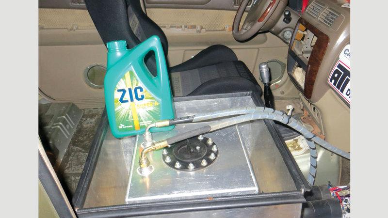 مركبات مزوَّدة بطريقة خطرة ضبطتها شرطة دبي. من المصدر